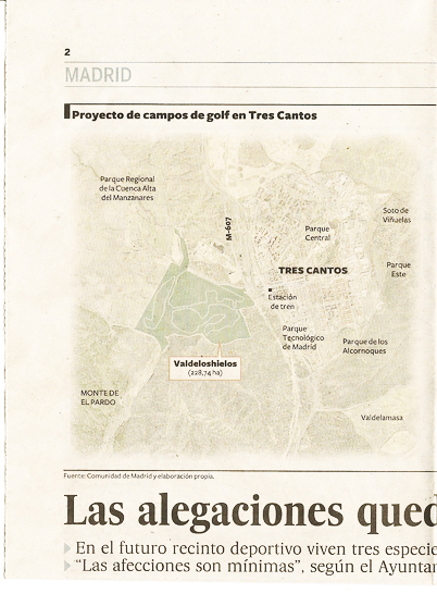 5-01-2011: Proyecto Campo de Golf