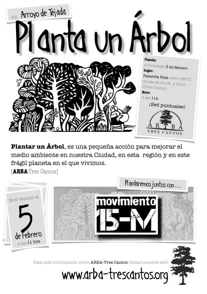 05-02-2012: Plantación en Arroyo Tejada (junto al 15M)