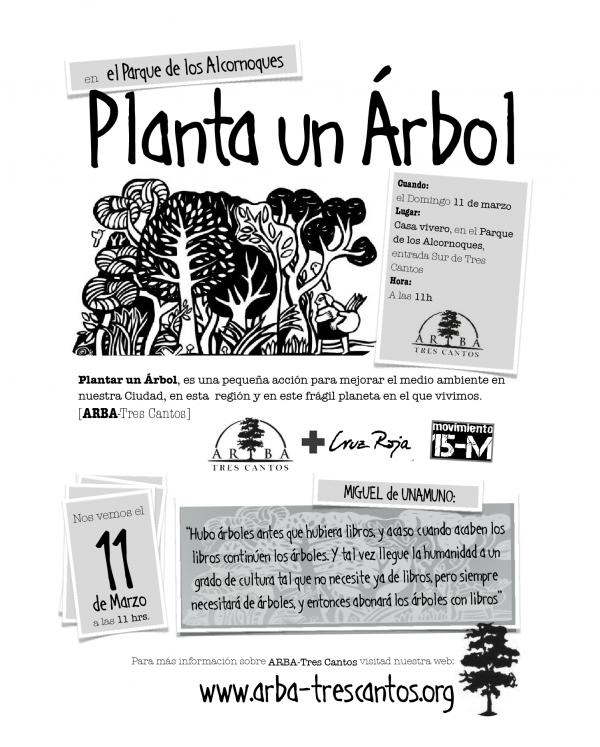 11-03-2012: Plantación Parque de los Alcornoques