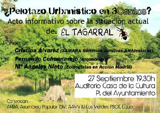 Acto Informativo – Situación de El Tarragal – 27 de septiembre 2013