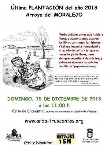 15-12-2013: Plantación en el Arroyo del MORALEJO