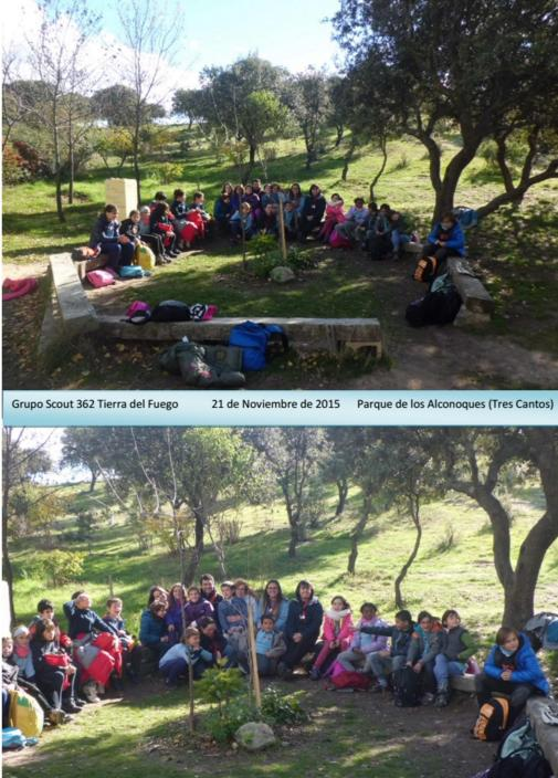 Visita del Grupo Scout – 21 de Noviembre 2015