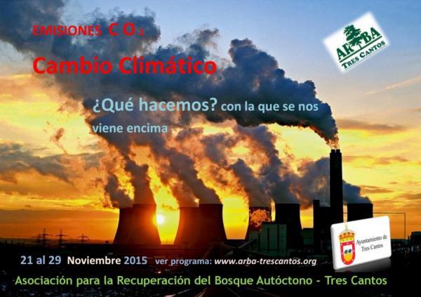 V Jornadas del Medio Ambiente del 21 al 29 Noviembre 2015