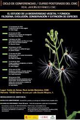 Ciclo de Conferencias en el Botánico de Madrid – jueves 21 de enero