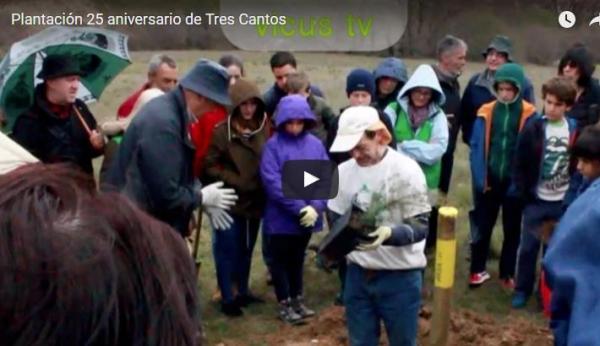 XXV Aniversario de Tres Cantos – Plantación – 3 de abril 2016