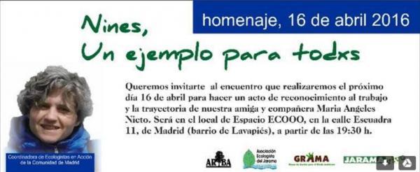 ARBA Madrid – Homenaje a Nines – 16 abril 2016