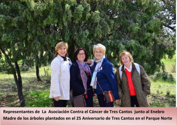 Asociación Contra el Cáncer: entrega de premio – 23 abril 2016