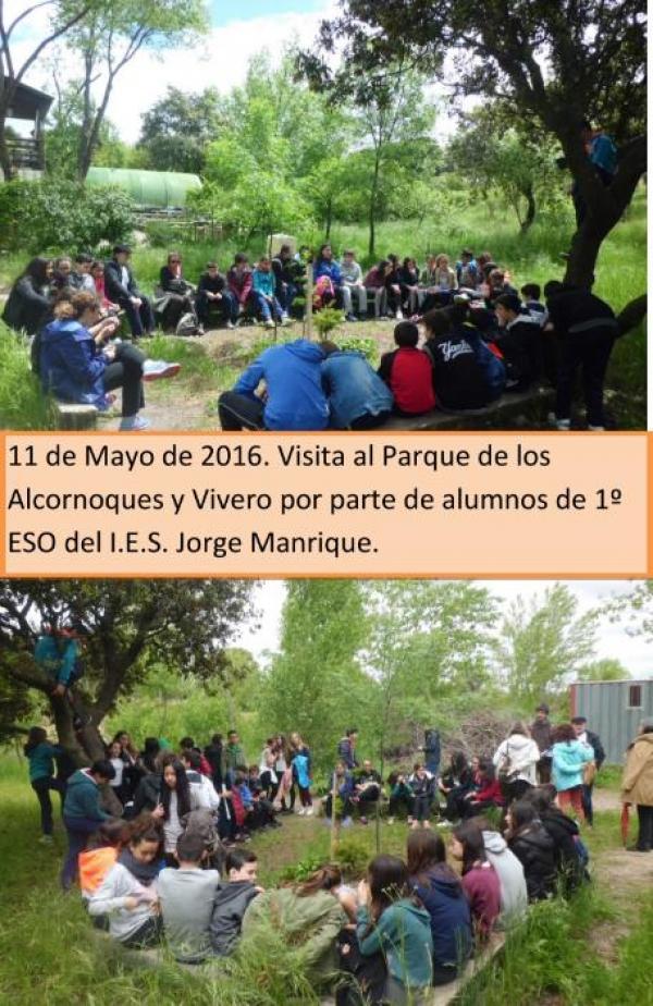 Visita Alumnos IES Jorge Manrique – 11 de mayo 2016