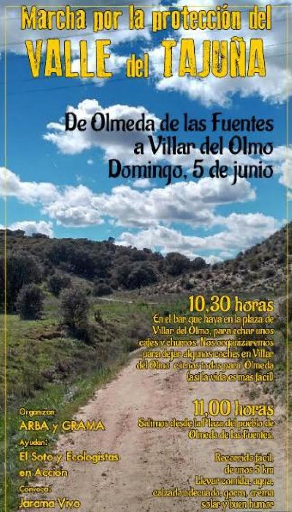 Marcha por la protección del Valle del Tajuña – 5 de junio 2016