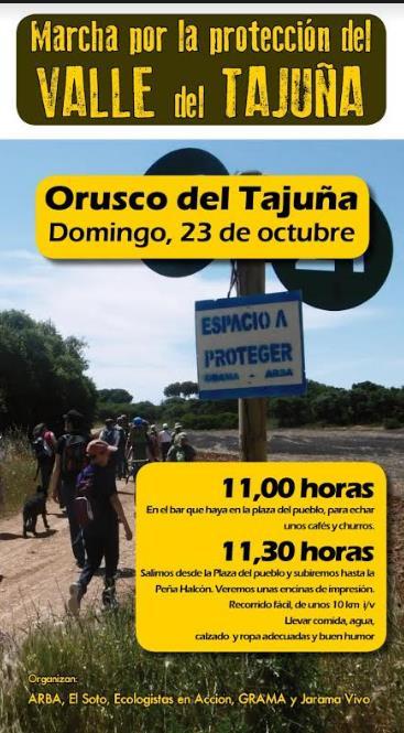 Marcha al Tajuña – 23 octubre 2016