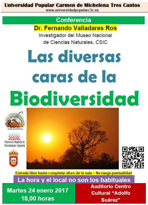 Conferencia sobre Biodiversidad – 24 enero 2017