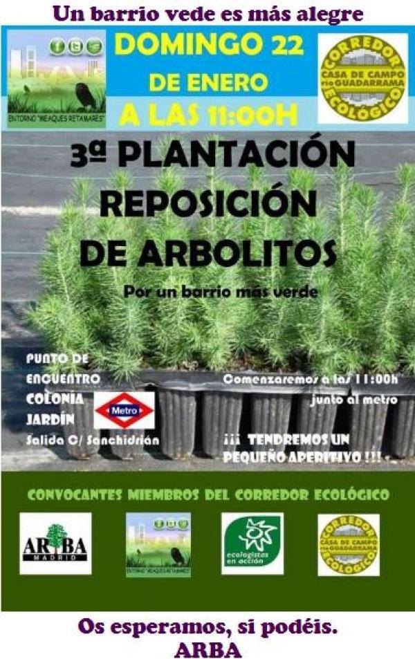 ARBA Madrid – Plantación 22 enero 2017