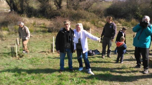 Plantación Parque Norte y arroyo de Valdecarrizo – 19 Febrero 2017