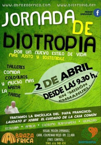 Jornada de Biotropia en la Misión Emmanuel – 2 abril 2017